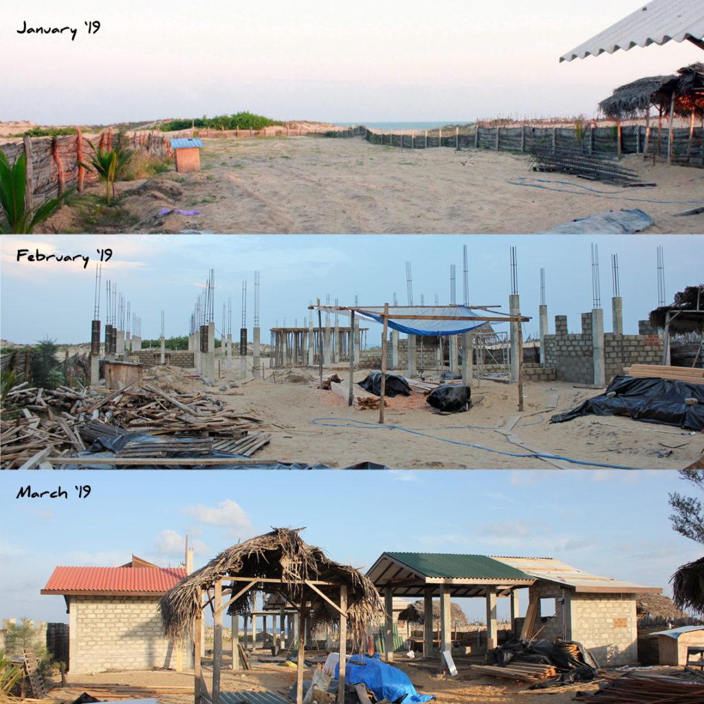 Baufortschritt nach 8 Wochen