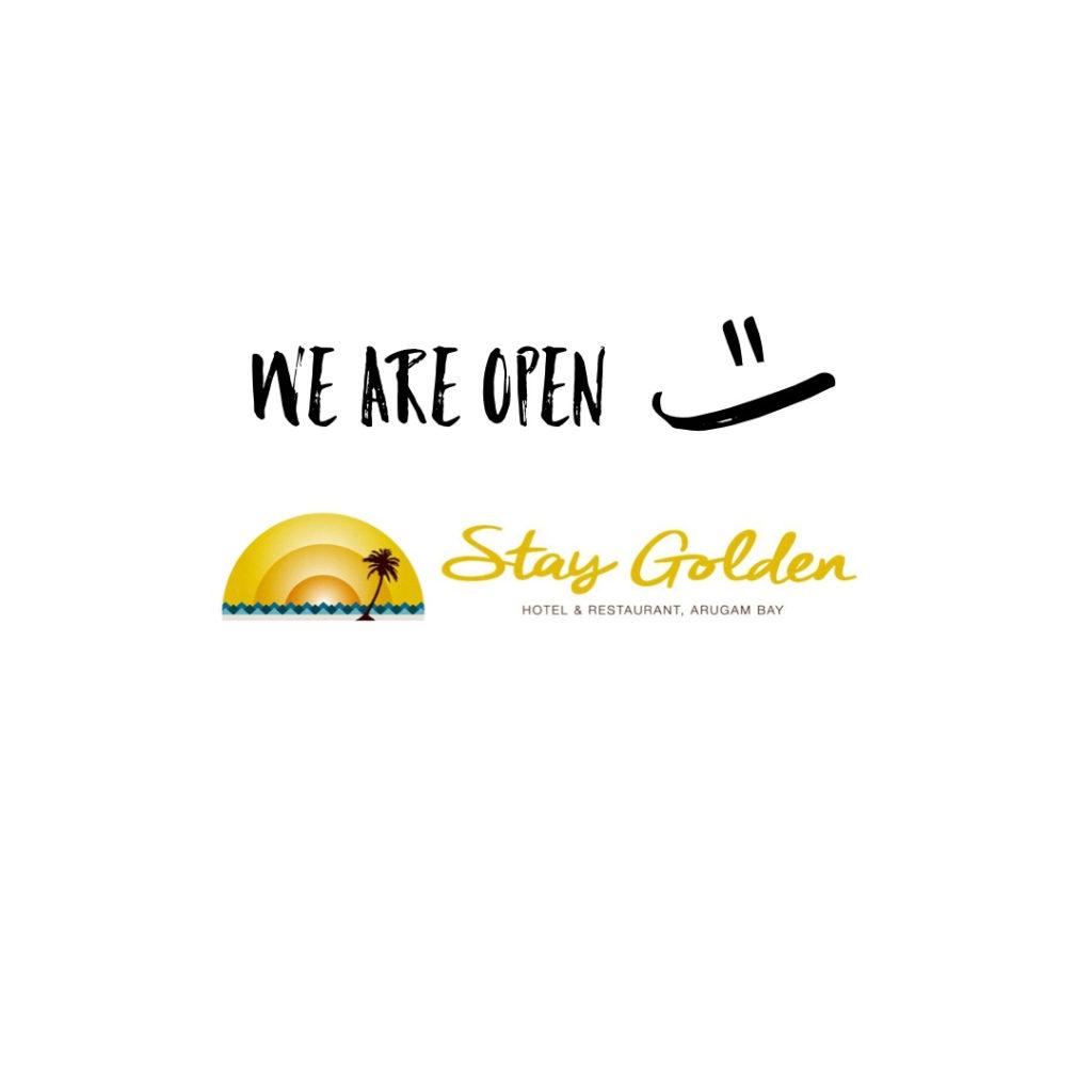 Stay Golden Eröffnung Juli 2019